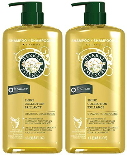 Clairol Herbal Essence Herbal Shampoo - Herbal Essences Shine Collection Shampoo - 33.8 oz - 2 pk