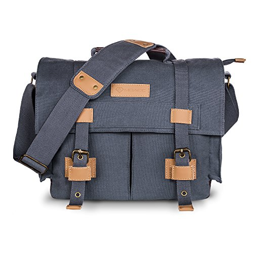 DSLR SLR Camera Bag,MOACC Canvas Vintage Camera Messenger Ba