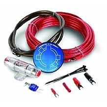 StreetWires ZN3KI-04 Zero Noise ZN3 Amp Kit, 4 AWG (Red)