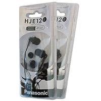 Panasonic RP-HJE120 Black 2-Pack