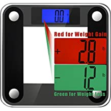 Ozeri Precision II Bathroom Scale with Weight Change Detection & Stepon Activation, 4.2 Kg