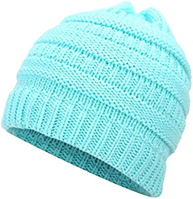 bc9055f88 Winter Hats for Women New Beanies Knitted Solid Cute Hat Girls ...