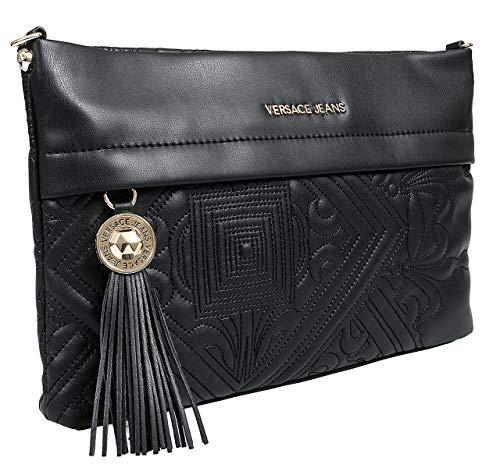 (Versace EE1VSBBZ5 E899 Black Clutch for Womens)