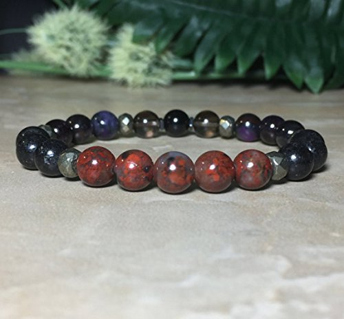 crop jasper bracelet elements product dalmation earth