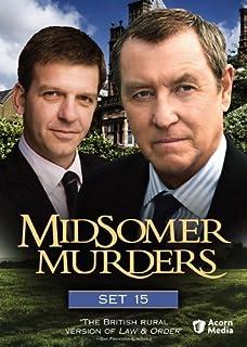 Midsomer Murders Set 15 Blood Wedding Shot At Dawn Left For Dead