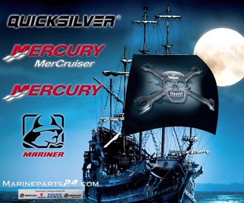 New Mercury Mercruiser Quicksilver Oem Part # Mck30007S Mount Assy by Mercury Marine