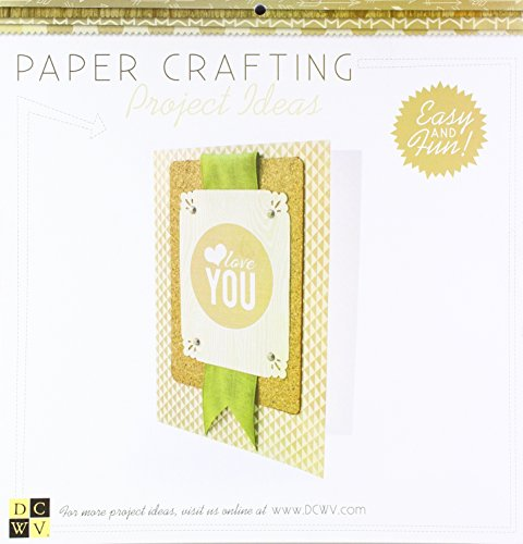 American Crafts 12 x 12 Inch Gilded Paper 48 Sheets Die Cuts with a View Stacks, 12