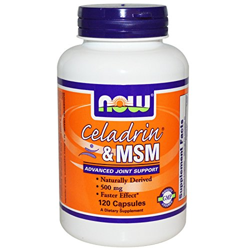 CELADRIN & MSM, 120 Caps by Now Foods (Pack of 6) by NOW Foods