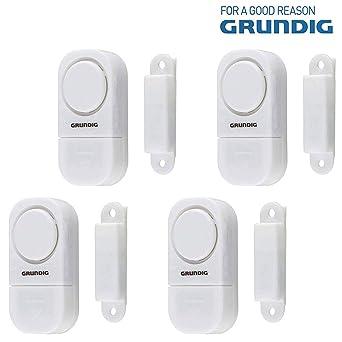 Grundig Alarma para puertas y ventanas - juego de 4 ...