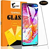 AVIDET for Samsung Galaxy A70 Screen Protector, Samsung Galaxy A70 Tempered Glass [Anti-Scratch][Bubble Free] 9H Hardness 0.3mm Ultra Slim Compatible for Samsung Galaxy A70 (2 Pack)