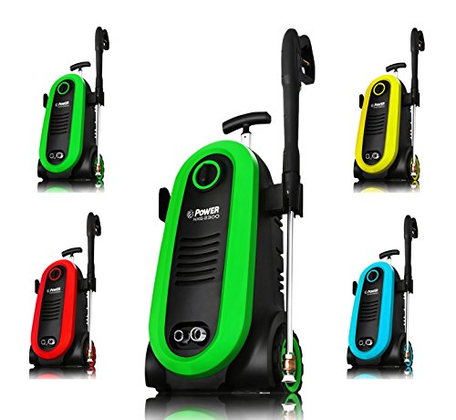 Power Pressure Washer 2300 PSI Electric | Brushless Induction Technology | The Next Generation of Pressure Washer | 3X More Lifespan | Ultra Low Sound | New Design | Power Efficient (Green)