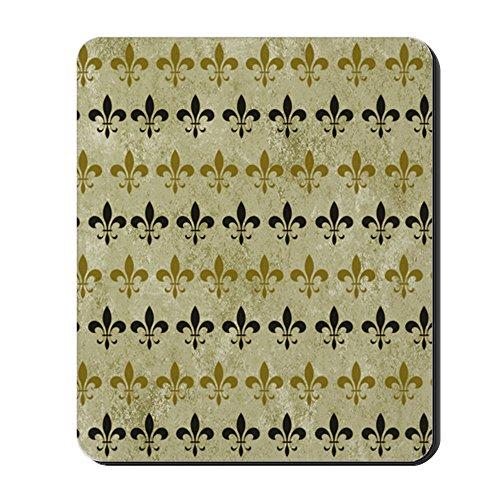 De Fleur Lis Vintage Flats (CafePress - Fleur De Lis Vintage Background - Non-slip Rubber Mousepad, Gaming Mouse Pad)