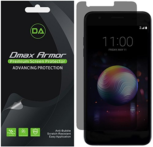 [2-Pack] Dmax Armor for LG K30 Privacy Anti-Spy Screen Protector Shield - Lifetime Replacement