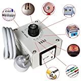 Electrical Gadgets & Tools - 4000W AC 220V Variable Voltage Controller for Fan Speed Motor Temperature Dimmer