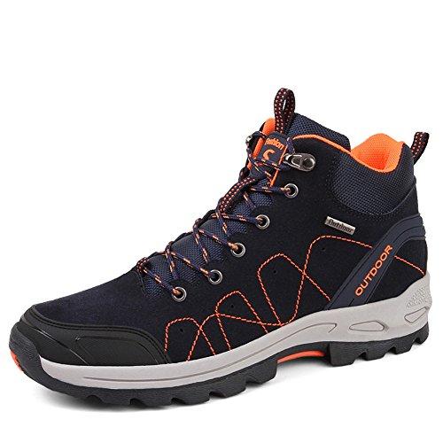 Bottes Boots Chaussures Fexkean Femme 35 45 Basses Bleu Hommes Randonnée Cuir Sports Sneakers Imperméable Trekking Outdoor UH11dXq