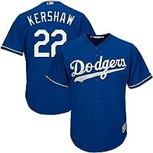 sho_Dodgers Mens Clayton_Kershaw 22# Jersey sports Royal Los Angeles Baseball