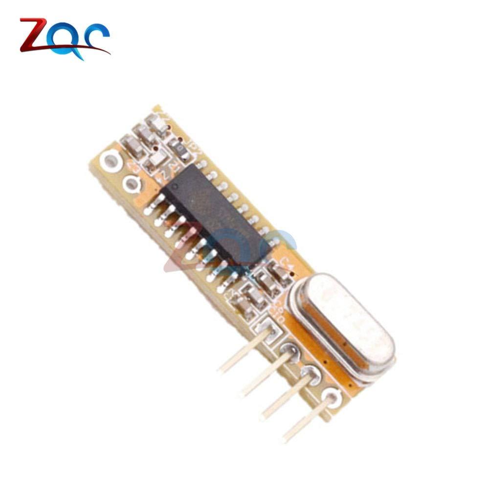 RXB12 433Mhz Superheterodyne Wireless Receiver Precise 3.3V-5.5V for Arduino AVR