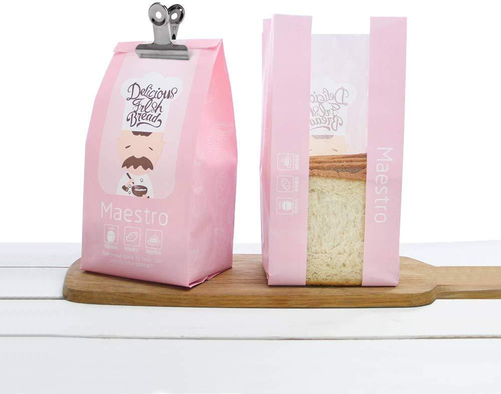 ufficio e cucina domestica negozi Oro rosa Clip di carta,35 Pezzi Clip del Raccoglitore,Clip Multiuso in Metallo,Clip Bulldog,per etichette Borse