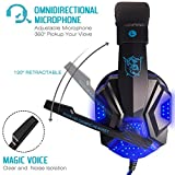 Gaming-Headset-with-Mic-and-LED-Light-for-Laptop-Computer-Cellphone-PS4-and-so-on-DLAND-35mm-Wired-Noise-Isolation-Gaming-Headphones-Volume-Control
