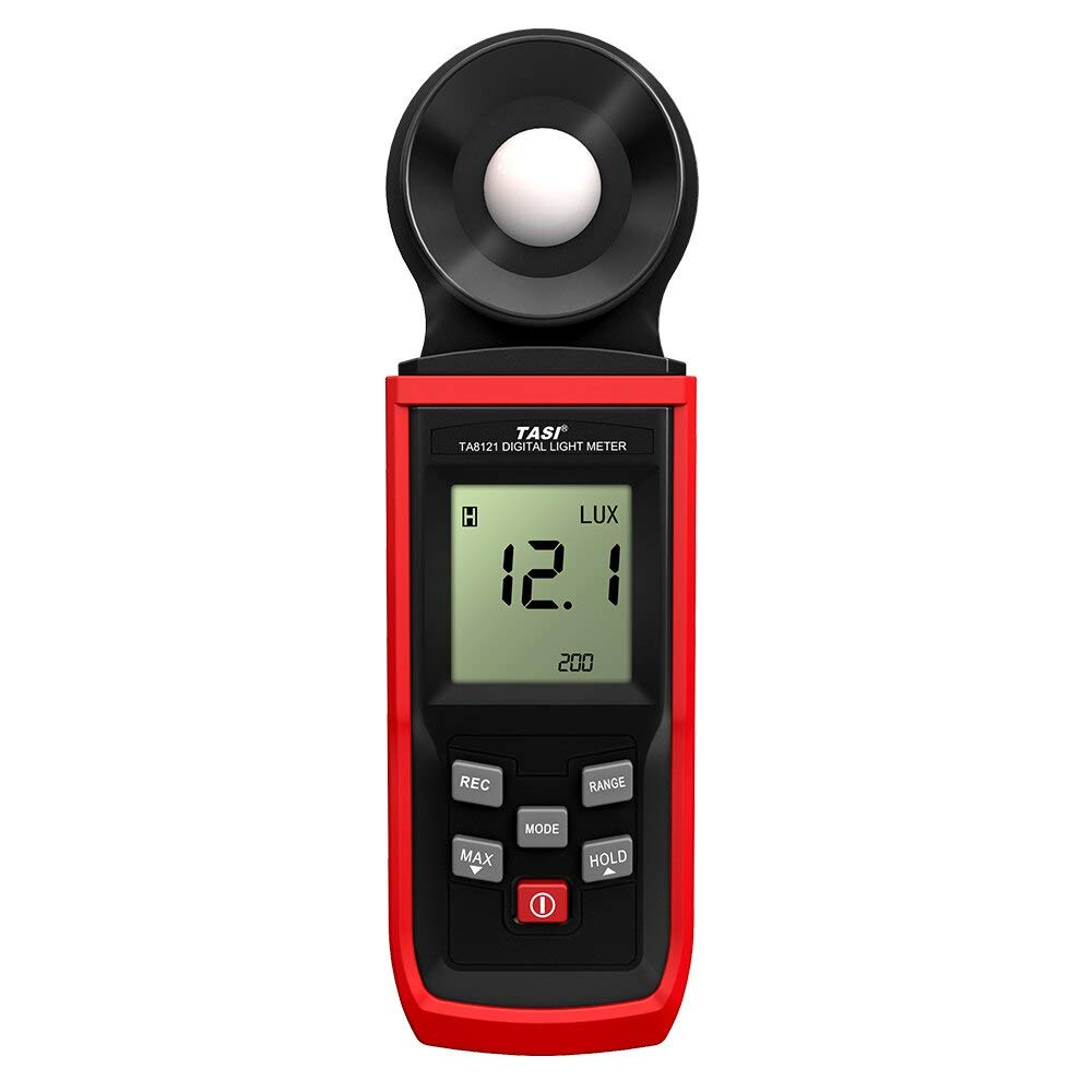 Handheld Lux Meter Mini LCD Luminometer Digital Photometer Luxmeter Light Meter Illuminometer 0-100000 Lux by Expressus