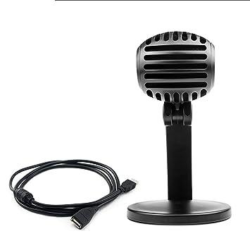 Micrófono de grabación USB de estudio, soporte de micrófono ...