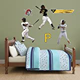 MLB Pittsburgh Pirates Andrew Mccutchen Hero Pack Fathead Real Big Decals, One Size, Multicolor
