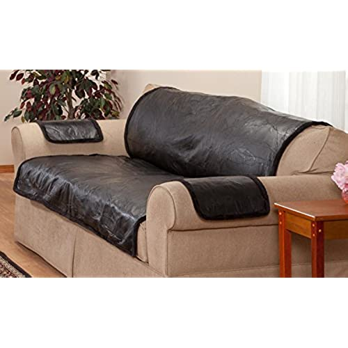 Charmant Leather Furniture Cover   Love Seat