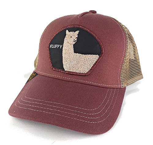 Ministry of Hats Gorra de Trucker Vino Fluffy