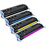 glb high quality hp 124a q6000a q6001a q6002a q6003a toner cartridges 4 color set - Hp Color Laserjet 2600n