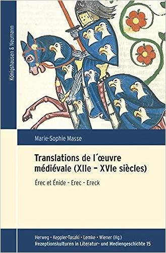 Translations l´oeuvre médiévale