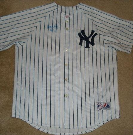 (Wade Boggs Autographed Jersey (yankees) W/Proof! - Autographed MLB Jerseys)
