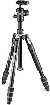 Aluminium Nikon Mirrorless Tripod Bag Plate and Ball Head Included for Canon DSLR CSC Twist Lock Manfrotto MKBFRTA4B-BHM Befree Advanced 2N1 Travel Tripod with Monopod Up to 8 kg Sony