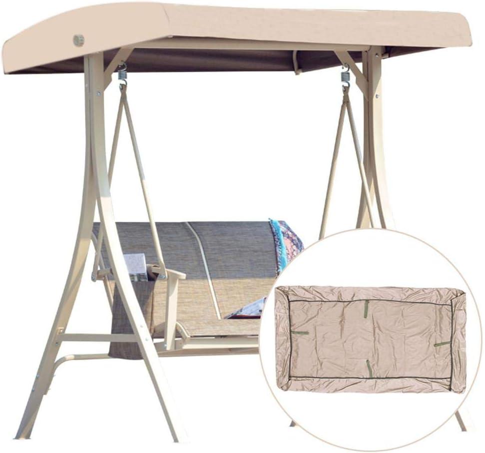 Dream-cool – Techo de repuesto para columpio de jardín, universal, 3 plazas, resistente al agua, funda de repuesto para toldo, columpio, 191 x 120 x 18 cm: Amazon.es: Hogar