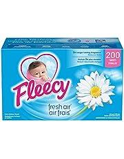 Fleecy Fabric Softener Dryer Sheets, Fresh Air, 200 sheets