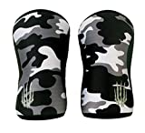Weightlifting Knee Sleeves (SOLD AS PAIR of 2) Cross...