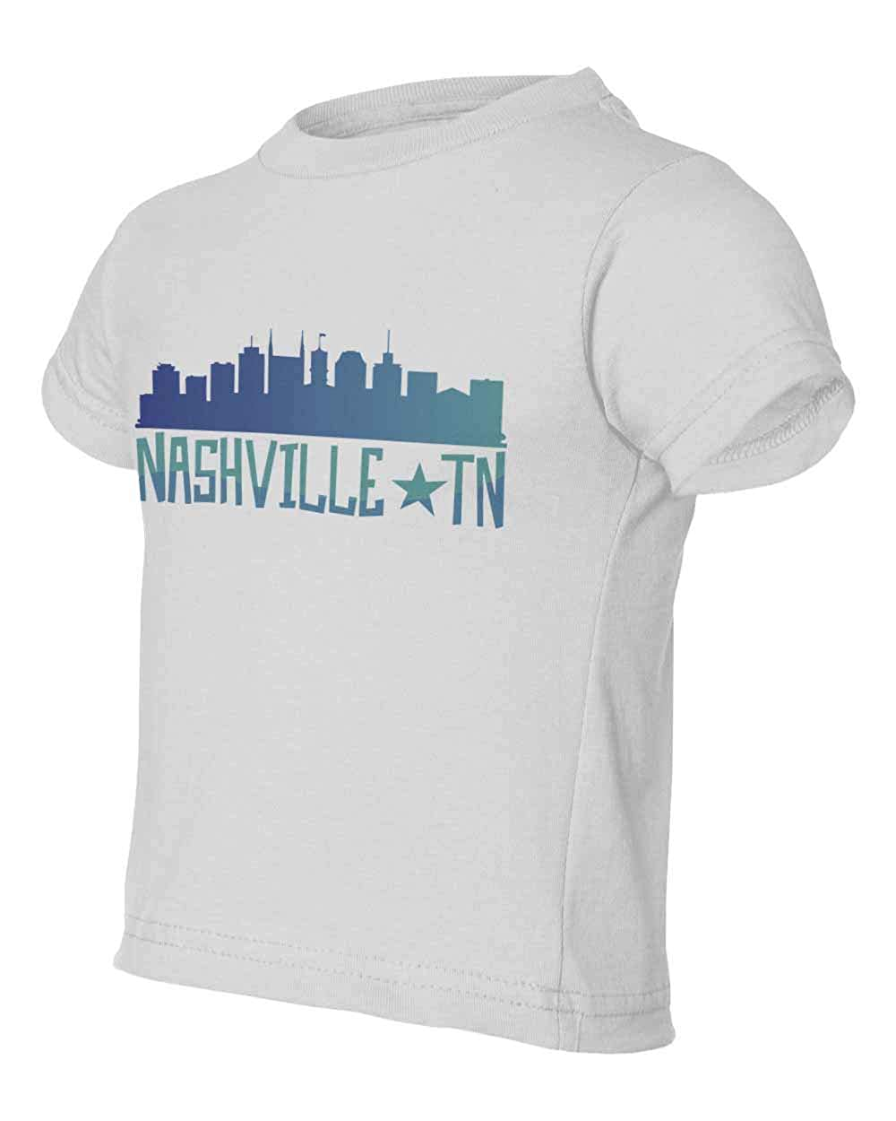 City Skyline Nashville Tennessee Graphic Youth /& Toddler Tee Shirt
