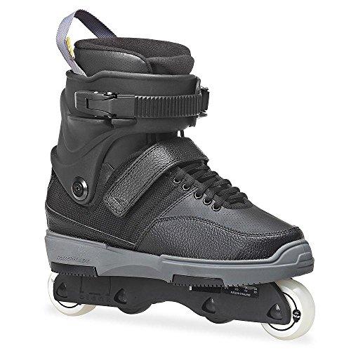 Rollerblade RB NJ5 Street Skate, Black Stealth, 8 (Aggressive Roller Skates)
