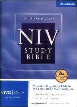 Amazon.com: Zondervan NIV Study Bible (9780310929550