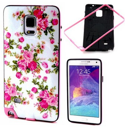 Galaxy Note 4 Case,Not 4 Case,Note 4 Hard Case,Note 4 Case Cover,Candywe Case For Samsung Galaxy Note 4,Hard Case Cover With Stand For Samsung Galaxy Note 4 011