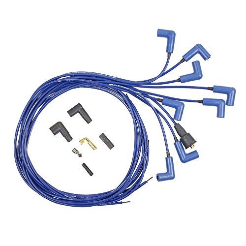 (ACCEL 7541B 300 Plus Blue Ferro-Spiral Race Spark Plug Wire Set)