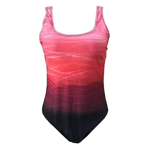 Logobeing Bikinis Mujer 2018, Traje de Baño de Playa De Una Pieza para Mujer Bañador de Baño Monokini Push Up Bikini Acolchado Bañadores de Mujer Tallas ...