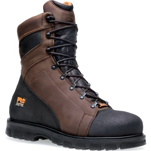 Timberland PRO 95553 Men's Rigmaster 8-in ST WP Boot Brown 5.5 W US ()