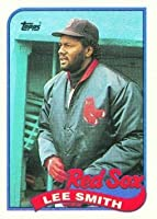 1989 Topps #760 Lee Smith - Boston Red Sox (Baseball Cards)