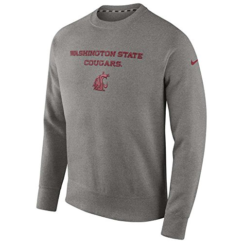 Washington State Cougars Stadium Classic Club Crew Sweatshirt - Men - (Stadium Crew Sweatshirt)
