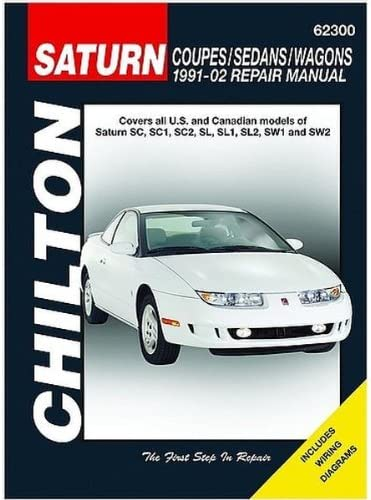 2002 saturn sl1 wiring diagram amazon com chilton saturn coupes sedans wagons 1991 2002 repair  saturn coupes sedans wagons 1991