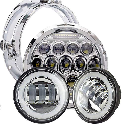 TURBOSII DOT Appoved Chrome Motorcycles 7