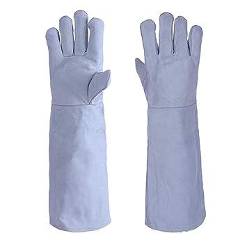 JXXDDQ guantes de Soldadura Reforzados con Refuerzo Reforzado Guantes de Trabajo para soldadores Guantes de Seguridad: Amazon.es: Hogar