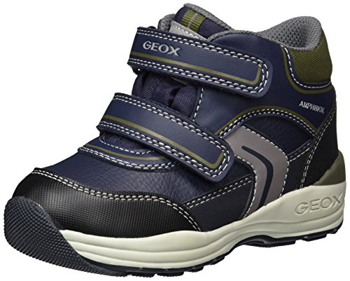 Geox Baby New gulp Boy ABX - B741GB050FUCF4A3 - Color Navy Blue-Grey - Size: 10.0 by Geox