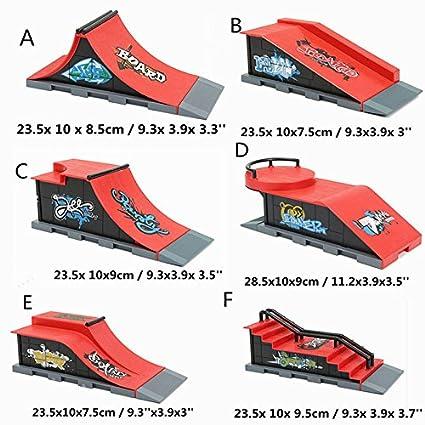 7b25fa886cb9 New DIY Finger Skateboard Site Skate Park Ramp Parts Finger Board Site  Ultimate Sports BY LETBO