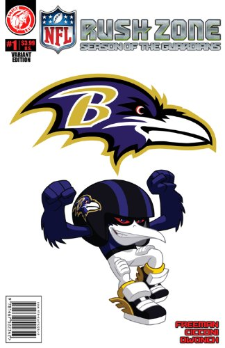 NFL Rush Zone: Season Of The Guardians #1 - Baltimore Ravens Cover